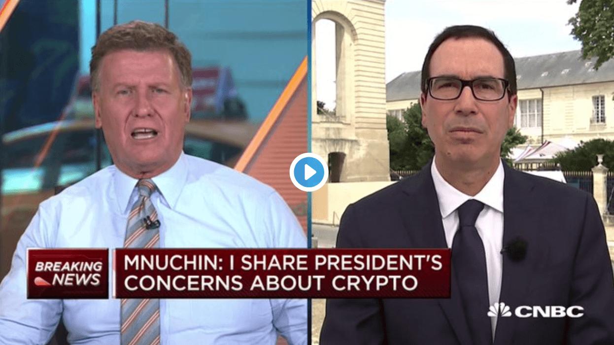 Телеведучий CNBC «розніс» міністра фінансів США за критику BTC