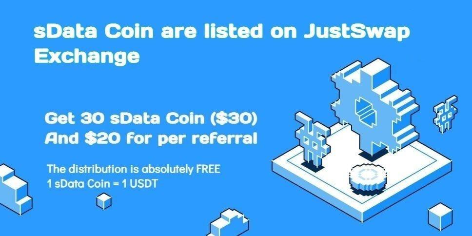 30 sData Coin ($30) – 29 березня