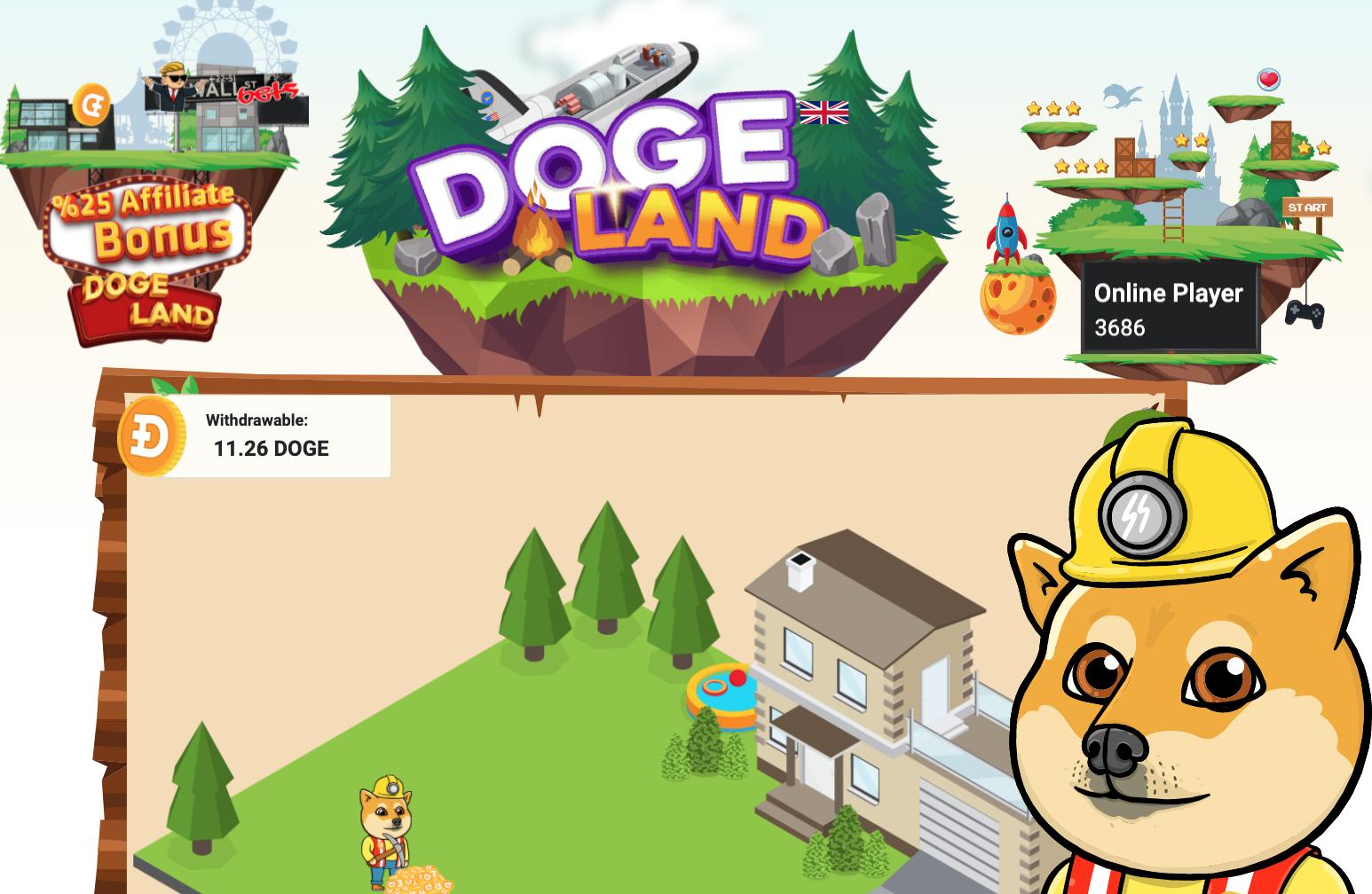 Від 2 DOGE в день безплатно